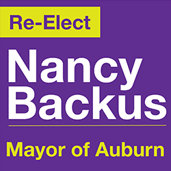 Re-Elect Nancy Backus